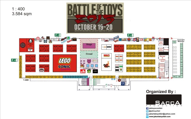 BOTT 2013 - Layout Plan with logo